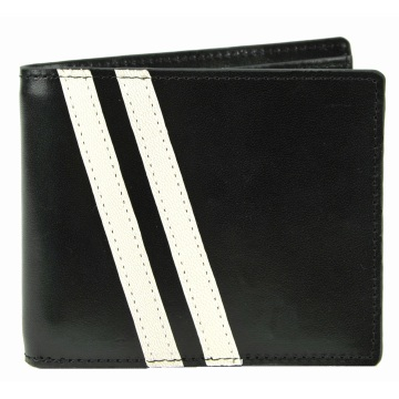 Roadster Leather Wallet - Black