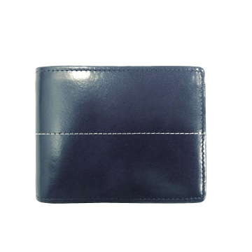Thunderbird Leather Wallet - Cobalt